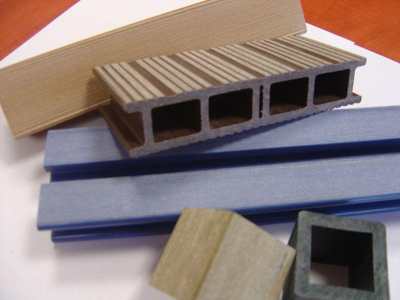 Kompozyty WPC drewno/tworzywo do produkcji desek i profili
