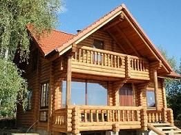 produkcja domów z bali drewnianych