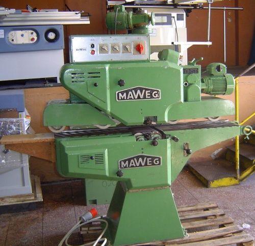 Szlifierka przelotowa MAWEG