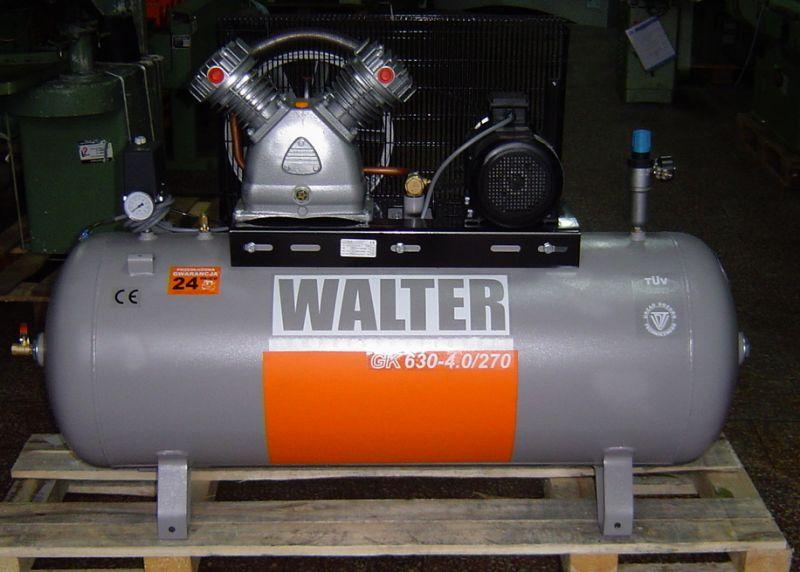 Kompresor tłokowy WALTER