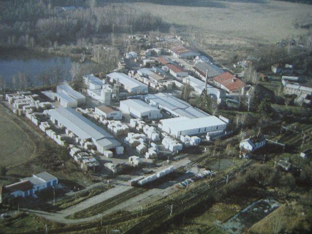 Duża fabryka drewna profilowanego