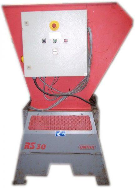 Rozdrabniarka-kruszarka-młyn czterowałowy (rębak) UNTHA RS30-4S