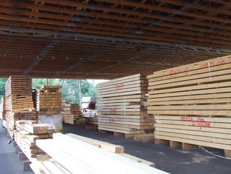 drewno konstrukcyjne lite KVH - świerk