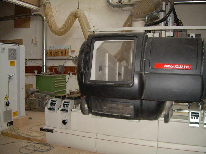Maszyna CNC Morbidelli Author X5 32 evo