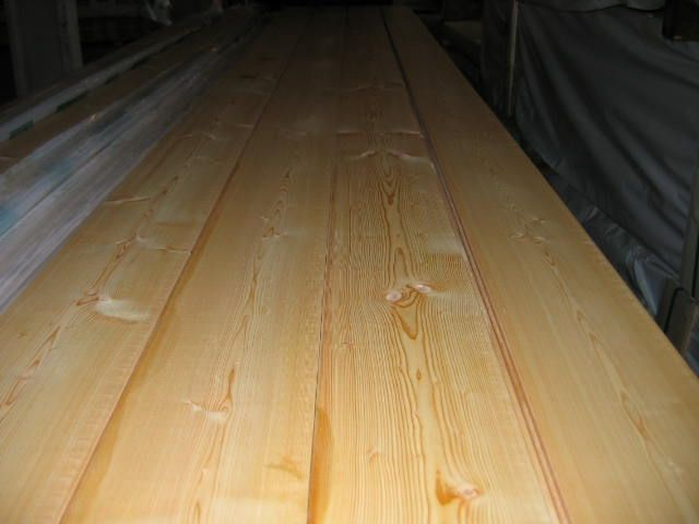 Deski podłogowe modrzew syberyjski-fabryka