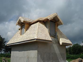 dachy drewniane z wióra osikowego, dachy tradycyjne, dachy ekologiczne