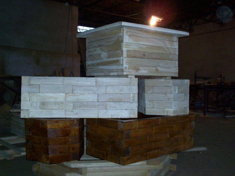 donice drewniene