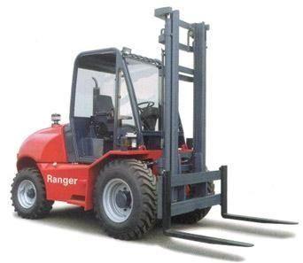 Terenowe wózki widlowe dla przemysłu drzewnego