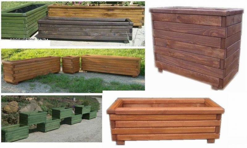 sprzedam donice drewniane