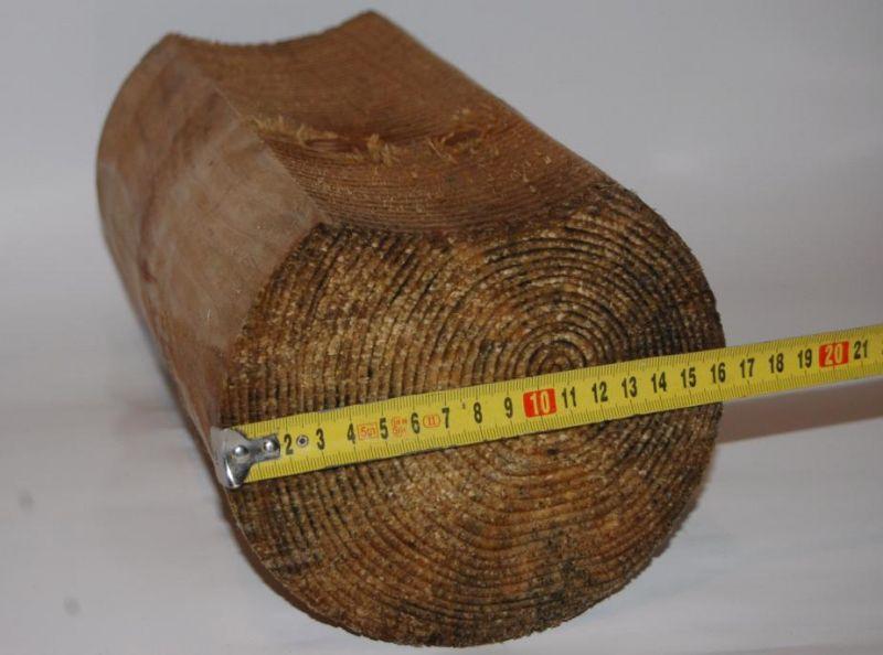 Bale z siedziskiem toczone z świerkowe 160- 240 mm , 240-300mm
