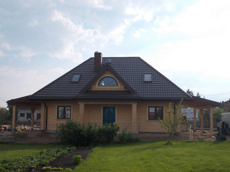 Drewniane domy z bali litych