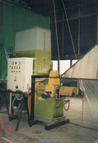 brykieciarki do produkcji brykietu w kształcie ośmiokata