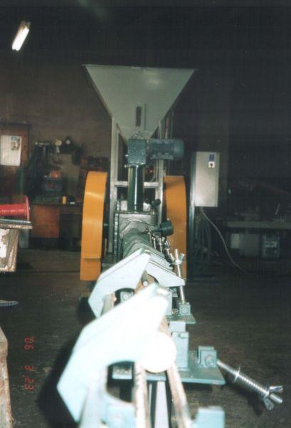 Прес брикет - механіка