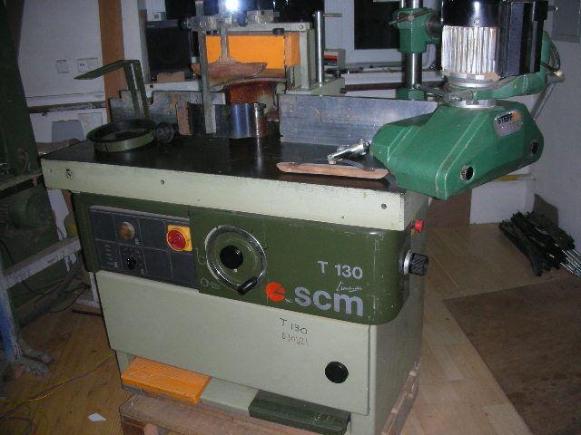Frezarka dolnowrzecionowa SCM T130P