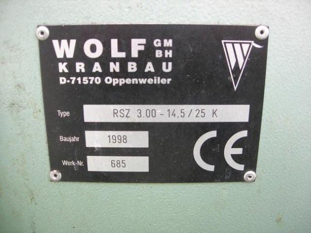 wózek do manipulacji kłód typu WOLF