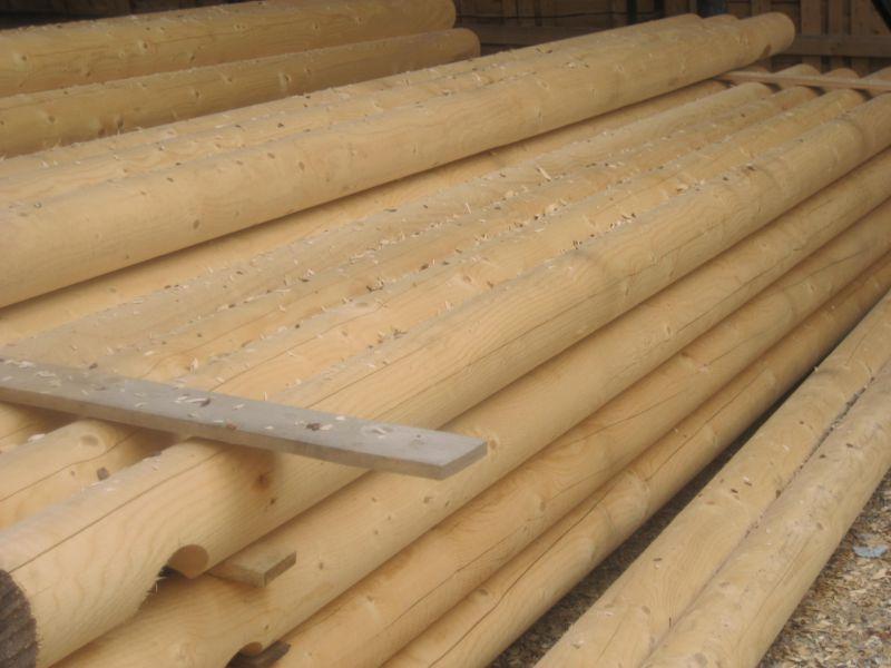 Bale toczone do budowy domów