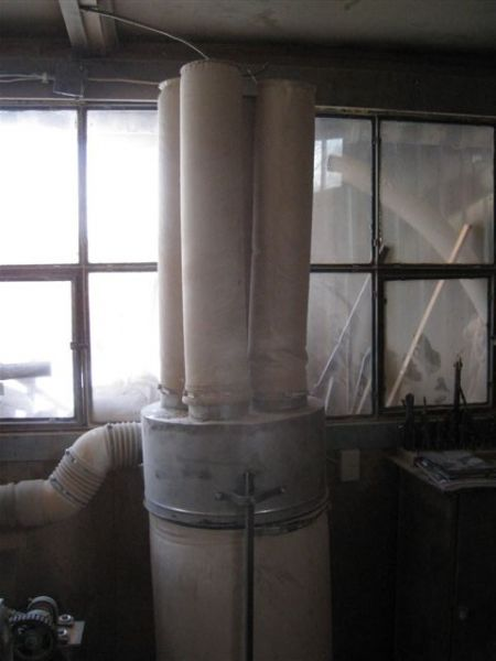 Woreki filtracyjne do odciągu trocin 150x2500