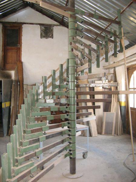 Prasa do gięcia schodów