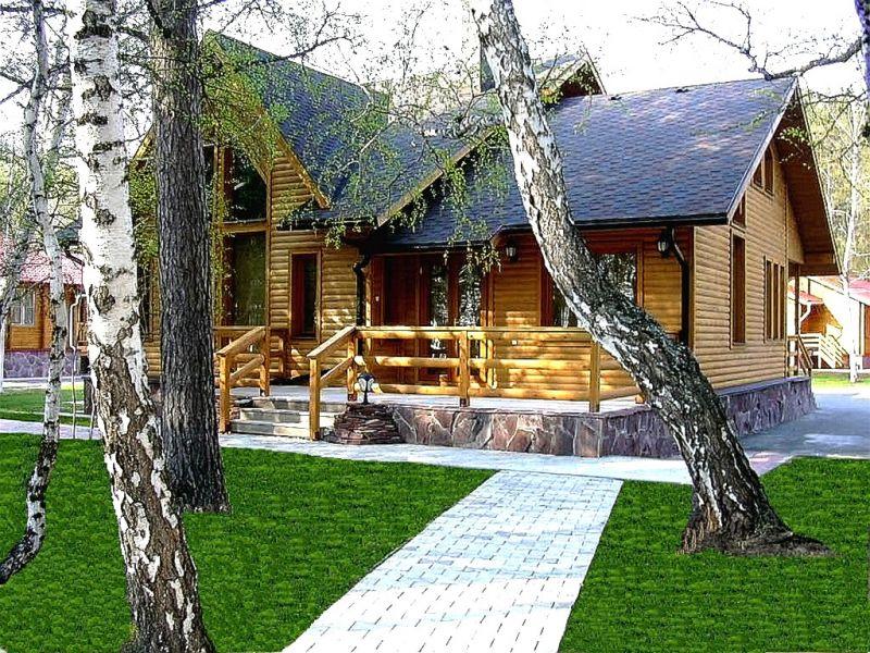 Domy drewniane domy z  sosny cedru jodła modrzew