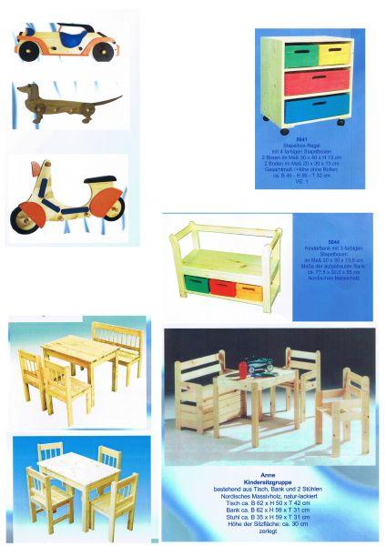 Wyroby z drewna litego dla dzieci