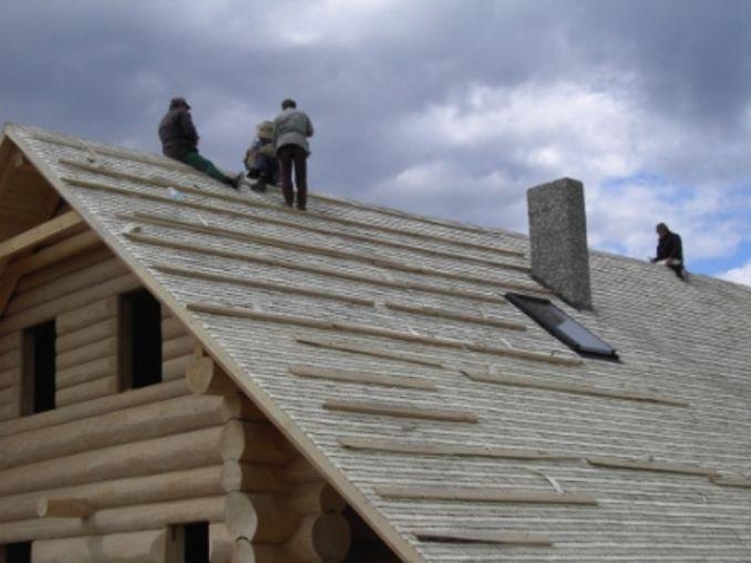 Ekologiczne dachy z wióra osikowego