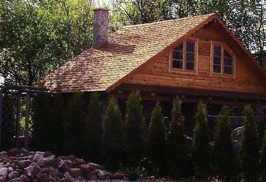 Dachy z wióra osikowego Dach z wióra drewniany