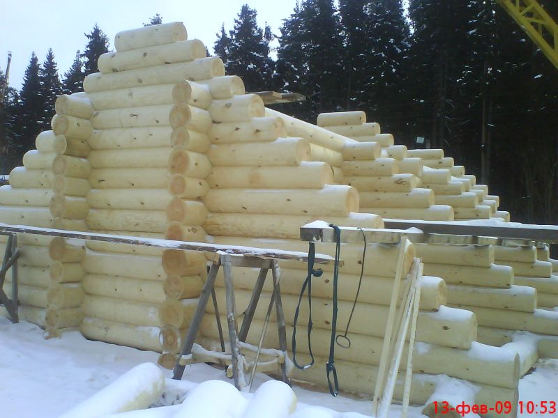 Domy iz drewna s Sibiri