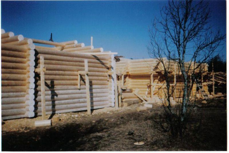 Domy z drewna z Sibiri