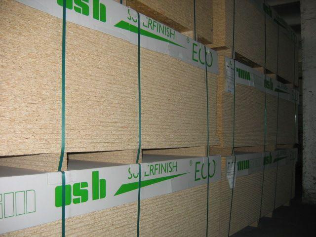 Płyty OSB -sztuki, palety, ładunki cało samochodowe
