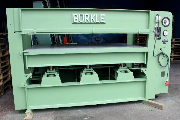 Prasa półkowa hydrauliczna BURKLE