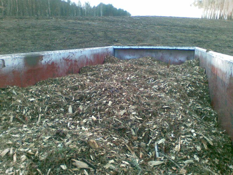 Producent biomasy kupi zrębkę liściastą/iglastą - las, pole, drogi -dolnośląskie, lubuskie