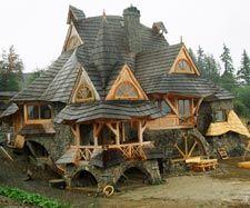 Pokrycia dachowe - gonty drewniane