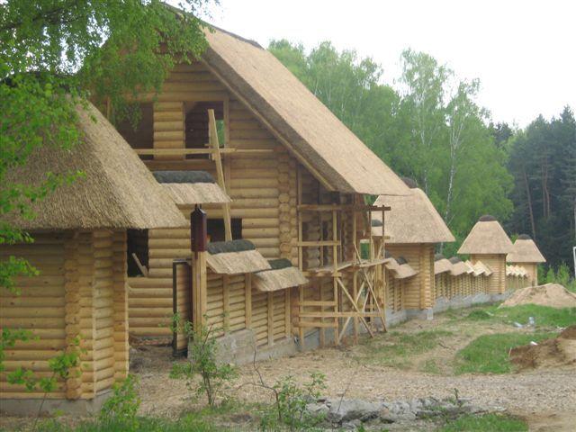 Doma iz cedra, modrzew, sosny 140-400