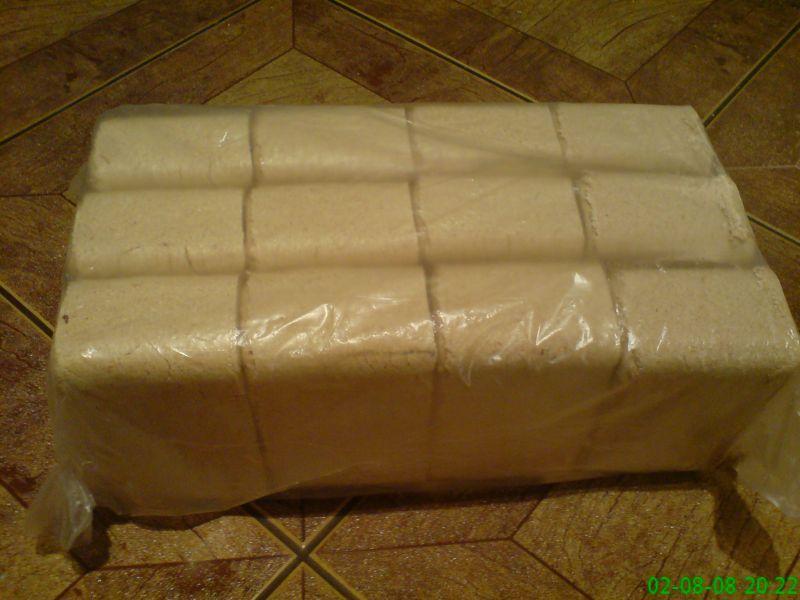 Brykiet RUF - sosna - opak. 10kg - SPRZEDAM