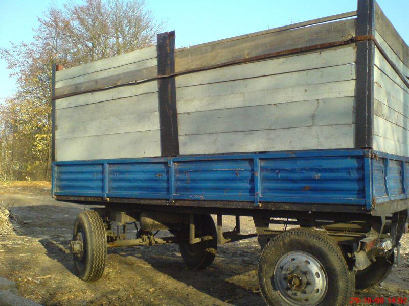 Przyczepa rolnicza D 50