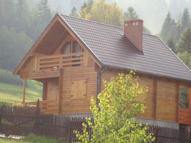 Domy z drewna, wyroby drzewne, podbitka itd.