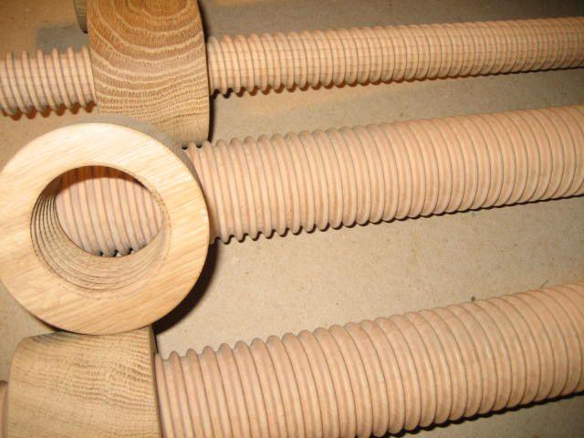 drewniane śruby