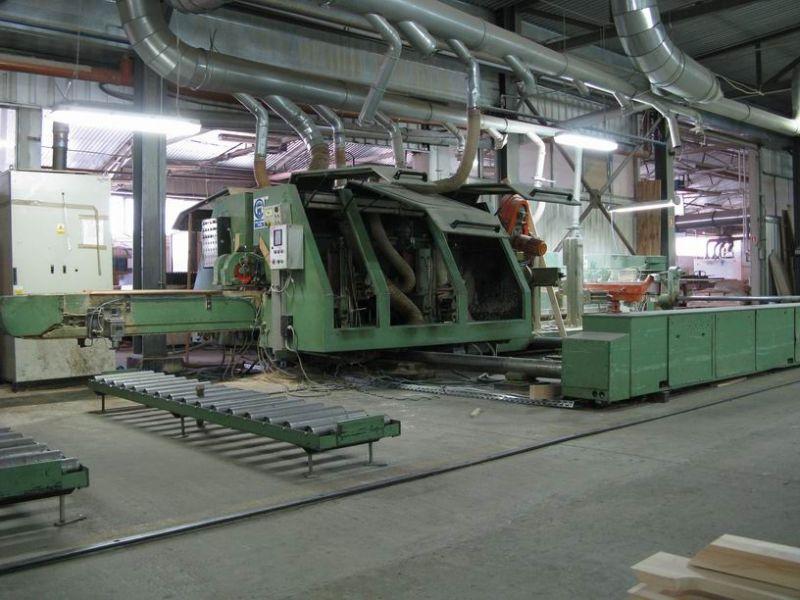 Formatyzerko-frezarko-szlifierka dwustronna przelotowa BIMAG