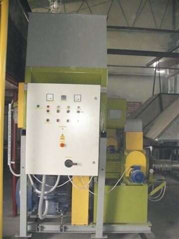 brykieciarki do produkcji brykietu w kształcie ośmiokata z otworem