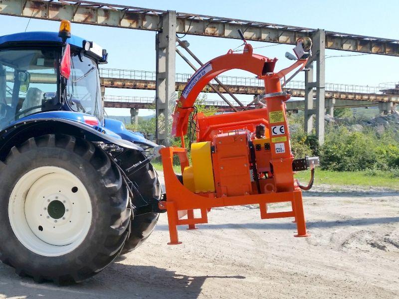 Ciągnikowy rębak BĘBNOWY Skorpion 280 RB- do wierzby - Teknamotor