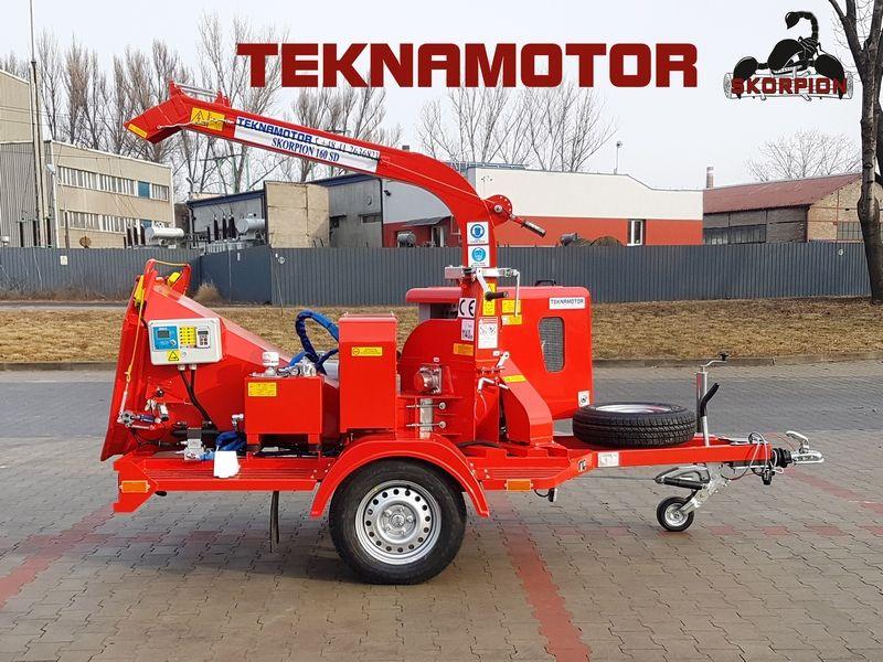 RĘBAK tarczowy Skorpion 160SD - Teknamotor