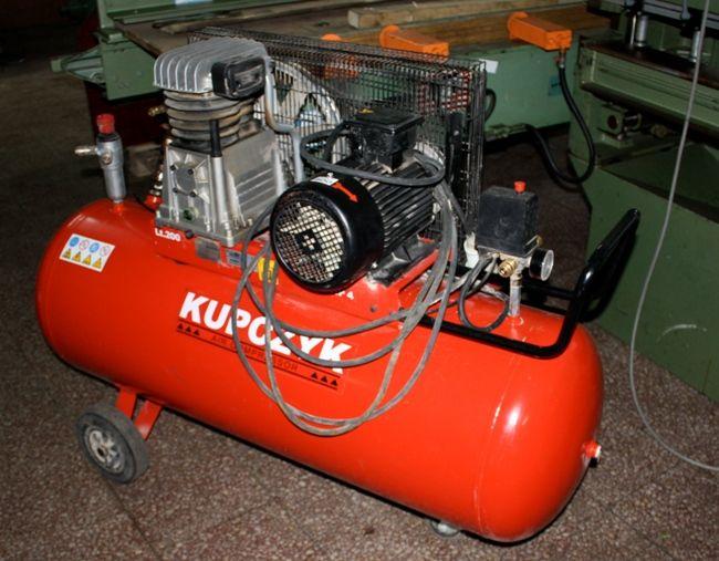 Kompresor tłokowy KUPCZYK -200L