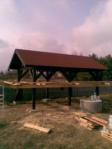 Konstrukcje drewniane, zadaszenia, domy, wiaty, garaże!