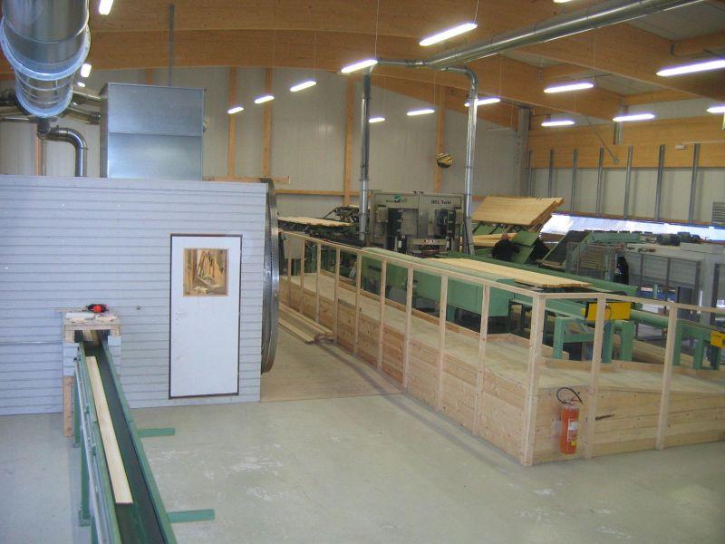 Wysokiej jakości drewno budowlane