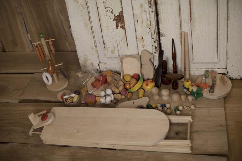 Wyroby toczone, zabawki