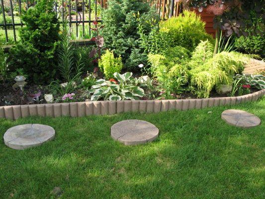 Betonowe drewno ogrodowe - trwałość na lata!!