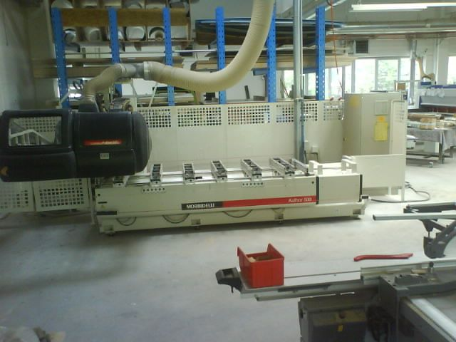 MASZYNY  CNC  - MORBIDELLI  AUTHOR 500 SUPER  2000 roku