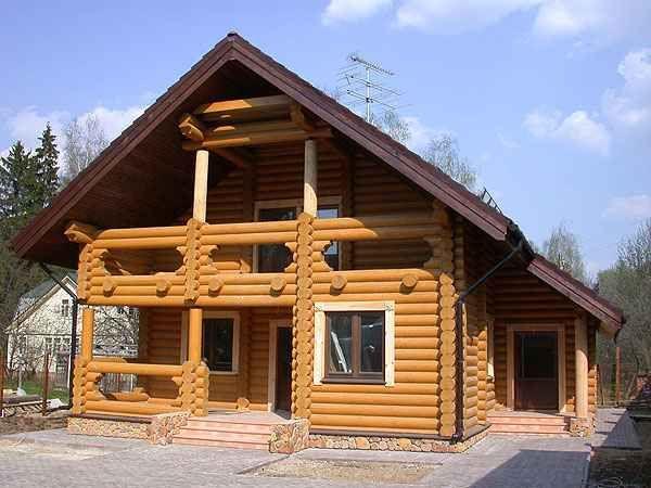 Domy z bala drewno syberyjskie