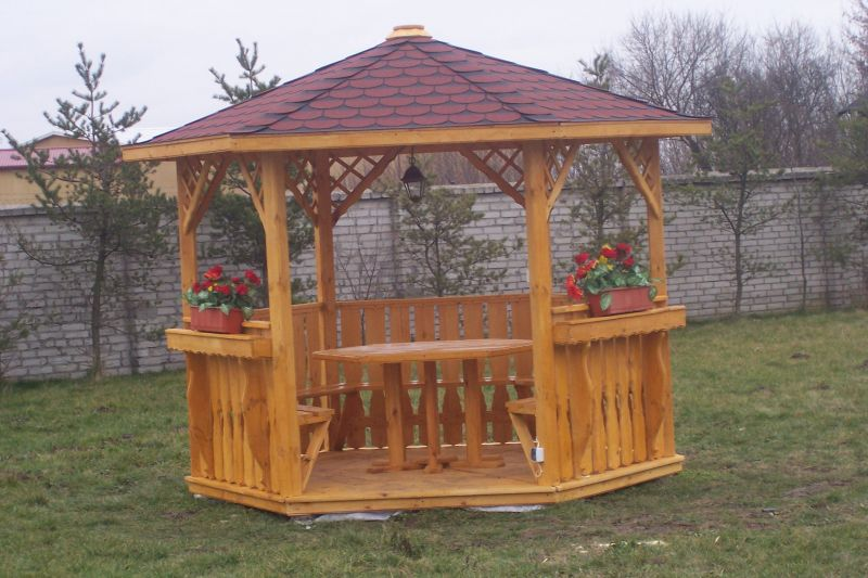 altany, altana, strzecha, zadaszenie, altanka, wiata, domek, ogrodzenie drewniane, płot