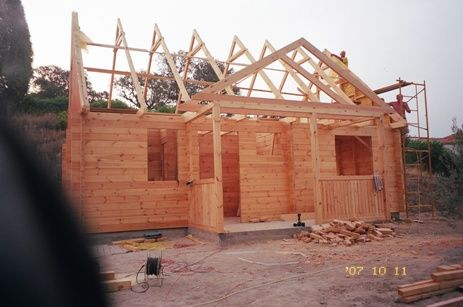 usługi-budowa domów z drewna
